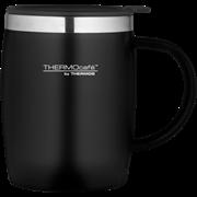 Thermocafe Soft Touch Desk Mug Black 450ml (105102)