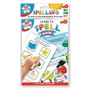 7educational Wipe Clean Book Spell A5 (SPWW)