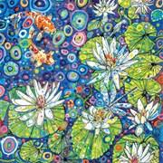 Blank Card Waterlilies (SR85904)