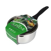 Supreme Stainless Steel Saucepan Induction Base 24cm (SS2024)