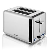Swan Polished Stainless Steel 2 Slice Toaster (ST14062N)