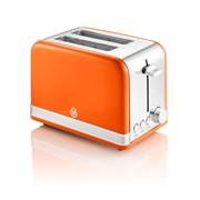 Swan Retro Orange 2 Slice Toaster (ST19010ON)