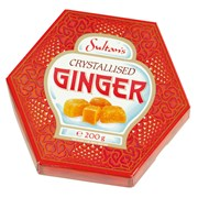 Sultans Crystallised Ginger 200g (ST240)