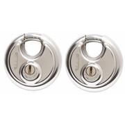 Sterling Locks 2pk Disc Padlocks 70mm (SPL200)