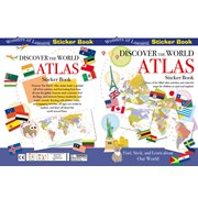 Sticker Book Discover The Atlas (STK68)