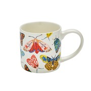 Straight Sided Mug Butterfly House (8BFH65)