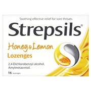 Strepsils Honey/lemon 16s (RB110653)