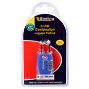 Sterling Locks Tsa Combination Padlock (CPL126)