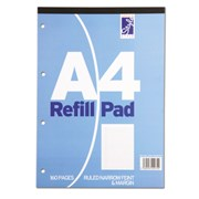 Style Refill Pad Blue N/f/m  80sht A4 (STA80NFM)