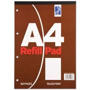 Style Refill Pad Brown Feint 80sht A4 (STA80F)