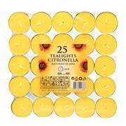 Prices Citronella Large Tealights X 25 (SUN202518)