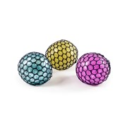 Hgl Jelly Squeeze Ball With Glitter (SV14541)