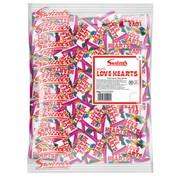 Swizzels Matlow Love Heart Mini Rolls Sweets Bulk Bag 3kgs (83150)