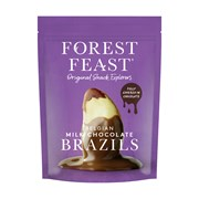Forest Feast Belgain Milk Chocolate Brazils 120g (T256)