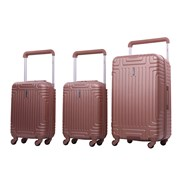"""Rose Gold Trolley Case 28"""""""