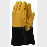 T&c Deluxe Premium Leather Gauntlet Medium (TGL109M)