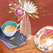 Tea And Cake B/day Card (CISE1100)
