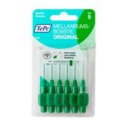Tepe Interdental Brushes 6 Brush Green 0.8 (114662)