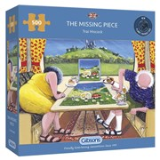 Gibsons The Missing Piece Puzzle 500pc (G3107)