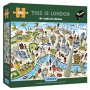 Gibsons The Is London Puzzle 500pc (G3137)