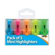 Tiger Mini Highlighters 5s (300850)