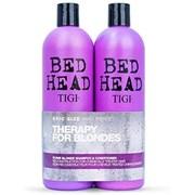 Tigi Bed Head Dumb Blond Twin Pack 750ml (TOTIG151)