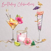 Time For Cocktails B/day Card (IJ0093W)