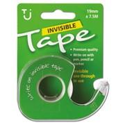 Tj Invisible Tape 19mm x 7.5m With Dispenser (TJ15)