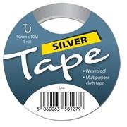 Tj Silver Tape 50mm x 10m (TJ18)