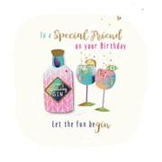 To A Special Friend Card (SFER0026/O)