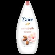 Dove Bath Cream Almond 500ml (TODOV796)
