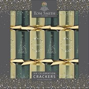 "Tom Smith Crackers Celebrations Black/gold 6x12"" (XALTS4504)"