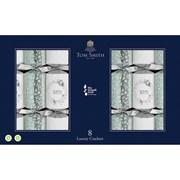"Tom Smith Crackers Luxury Silver & White 8x14"" (XALTS2402)"