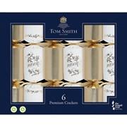 """Tom Smith Crackers Premium Gold & White 6x14"""" (XALTS1608)"""