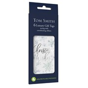 Tom Smith Frosted Twilight Gift Tags 6s (XALTT504)