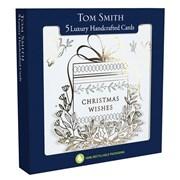 Tom Smith Luxury H/made Golden Wonder Cards 5s (XALTC1300)