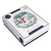 Tom Smith Luxury Snowman Cards 20s (XALTC406)