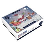 Tom Smith Luxury Whimsical Santa Cards 20s (XALTC400)