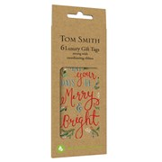 Tom Smith Merry Little Christmas Gift Tags 6s (XALTT510)