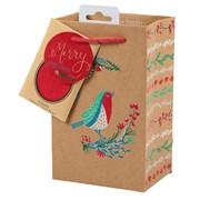 Tom Smith Merry Little Xmas Gift Bag P/fume (XALTB510P)