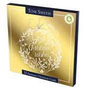 Tom Smith Premium Sq Golden Foliage Cards 12s (XALTC1203)