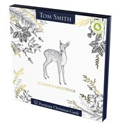 Tom Smith Premium Sq Woodland Animal Cards 12s (XALTC1202)