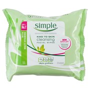 Simple Cleansing Wipes 25s (TOSIM079)