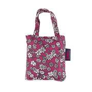 Totes Isotoner Totes Bag In Bag Shopper Raspberry Ditsy Print (2517GRF)