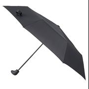 Totes Isotoner Supermini Mens Gearstick Handle Umbrella Black (8164BLK)