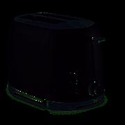 Tower Glitz 2 Slice Toaster Black (T20029)