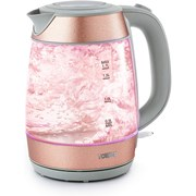 Tower Glitz 3kw Glass Jug Kettle Blush Pink 1.7l (T10040BP)