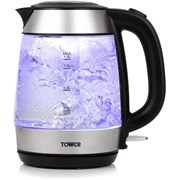Tower Rapid Boil Glass Kettle (T10040)