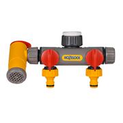 Hozelock Flow Max 3 Way Tap Connector (2250 0000)