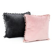 Pompom Cushion 45cm (TX1071)
